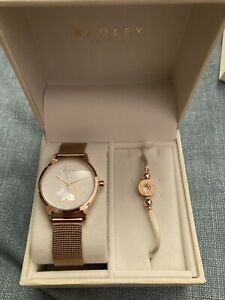 Radley Ladies Watch And Bracelet Gift Set  Brand New With Tags