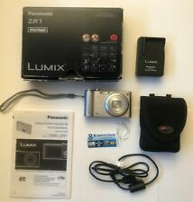 Lumix DMC ZR! - 8x Optical Zoom - Silver - Excellent Condition
