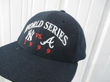 VINTAGE TWINS ENT. MLB NEW YORK YANKEES 1999 WORLD SERIES SNAPBACK HAT CAP NWT