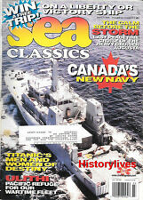 Sea Classics Mar98Canada USS AUGUSTA Ulithi USCGC ESCANABA Army FS Boats Titanic