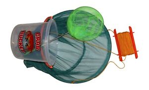 Crab Drop Net,Crab Bucket & Telescopic Fishing Net Sets