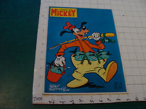 vintage Le Journal de MICKEY --FRENCH COMIC BOOK/MAGAZINE #947 GOOFY COVER