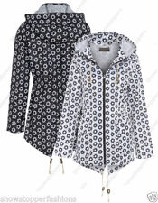 Casual Floral Plus Size Coats & Jackets for Women