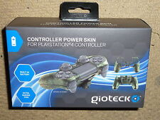 SONY PLAYSTATION 4 PS4 CONTROLLER POWER SKIN RECHARGABLE BATTERY COVER BRAND NEW