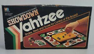 "Vintage ""Showdown Yahtzee"" Game by Milton Bradley 1991 Edition FREE SHIPPING!"