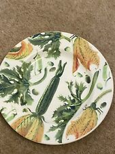 More details for emma bridgewater vegetable garden courgette 8.5 inch plate