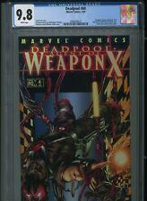 Deadpool 60 CGC 9.8 Agent of Weapon X 4 Uncanny X-Force Cable X-Men New Mutants