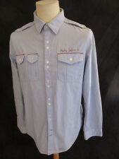Shirt Replay Blue Size L to - 63%
