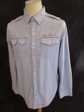 Chemise Replay Bleu Taille L à - 63%