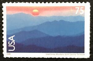 2006 Scott #C140, 75¢, AIRMAIL - GREAT SMOKY MOUNTAINS - Single - MINT NH -