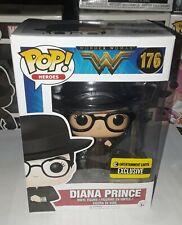 Funko POP!Wonder Woman DIANA PRINCE #176 Entertainment Earth EXCLUSIVE Vinyl Fig