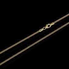 50cm Schlangenkette gelb Gold 333 цепочка necklace chain Collier 1,6mm 3721