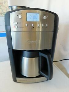 Capresso 465 Coffee TEAM TS 10-Cup Conical Burr Grinder Stainless Steel Carafe