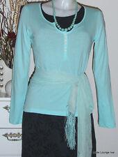 NOA NOA - Camiseta Top Dallas Jersey Oeste azul, M 38 algodón algodón NUEVO