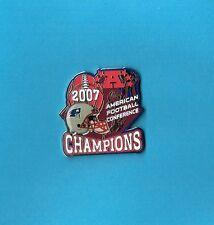 2007 New England Patriots AFC Champions NFL Football Super Bowl 42 Pin