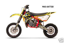Dirt Bike Graphics Kit decal Sticker Wrap For Cobra CX50 2007-2012 MAD HATTER