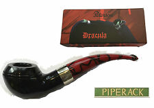 PETERSON Dracula Briar Pipe By Peterson of Dublin Shape No.999 Free Pipe Tool