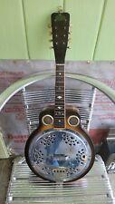Vintage Regal Mandolin Banjo With Original Spider Resonator
