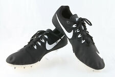 Men's Nike Rival S Sprint Track Running Spike Shoes ~ Black & White ~ Size 11