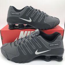 Nike Shox NZ Men's Shoes 378341-059 Dark Grey Anthracite Metallic NEW FREE SHIP