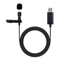 Microfono lavalier USB con clip sul colletto per cellulare Android portatile