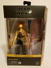 "Star Wars The Black Series Jar Jar Binks Deluxe Action Figure Hasbro 6"" 2016 NIB"