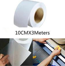 10cm x 3m Rhino Skin Car Sticker Car Bumper Hood Paint Protection PVC Clear Film