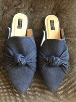 NWOT Eloquii Women Blue Mule/Clog US 10 Plus Free Shipping