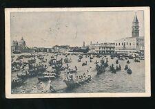 Italy Venice VENEZIAIl Campanile di S.Marco vista dal Bacino multi stamp PPC