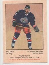 2002-03 PARKHURST RETRO -   RICK NASH ROOKIE CARD 244/300