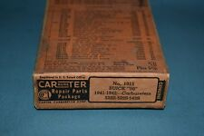 1941-42 Buick 50 Carter Carburetor Repair Kit NOS