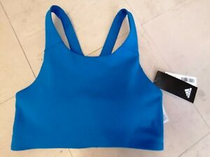 New bnwt Adidas ULTIMATE ALPHA active wear sports bra crop top S Globlu