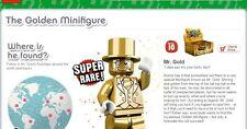 lego mr gold serie 10 minifigure serial 1432 - not registered sealed  NEW