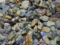 Australian opal rough L/R Bright Colourful Fossil/Wood material 50cts scoop #1
