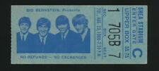 Beatles ORIGINAL 1966 SHEA STADIUM CONCERT TICKET STUB FOR THE HISTORIC SHOW!