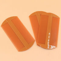 2X Double Sided Nit Fine Tooth Head Lice Hair Combs for Kids Pet Flea Plastic Nv