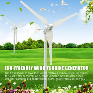 Turbine Eoliche 300W 12V,50-100W 24V Turbina Eolica Generatore 3/6 Lame F6G8