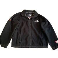 VTG The North Face Summit Series Gore Windstopper Black Fleece Jacket Men's L