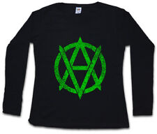 VEGANANARCHISM SYMBOL SOUL DAMEN GIRLIE Vegan Cyber Punk Rocker Symbol Sign