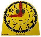 Original Large Judy Clock Telling Time Home School Judy Instrueto Elementary Res