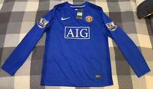 Nike Men's Medium Manchester United Ronaldo 7 Soccer Jersey 2007/08 New W Tags