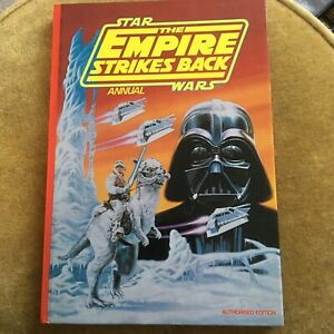 VINTAGE STAR WARS THE EMPIRE STRIKES BACK ANNUAL 1980