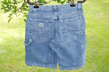 Mens Lee Dungarees Carpenter Utility Denim Jean Shorts Med Wash Size 30 L GUC