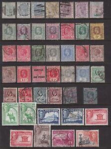 GOLD COAST QV-KGVI MAINLY USED COLLECTION 43 STAMPS