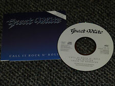 GREAT WHITE CALL IT ROCK N` ROLL UK 1991 CAPITOL 3 TRACK CD