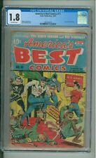 America's Best Comics #11  1.8 CGC  Tojo & Hirohito Cover  1944