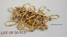 COLLECTIBLE BRASS MARINE CANON KEY CHAIN NAUTICAL LOT OF 50 PCS GOLDEN FINISH...
