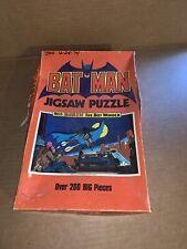 Vintage 1973 Batman Jigsaw Puzzle Complete With Box