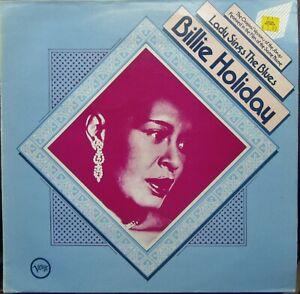 BILLIE HOLIDAY LADY SINGS THE BLUES LP Verve Original Versions Excellent