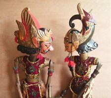 More details for 29'' vintage indonesian java wayang golek rod puppets